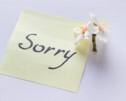מכתב סליחה